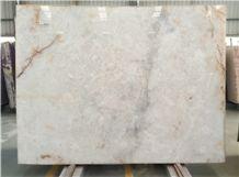 Own Factory Good Price Lumix Quartzite,White Quartzite,Pure White Quartzite Slabs & Tiles & Cut-To-Size, Brazil White Quartzite