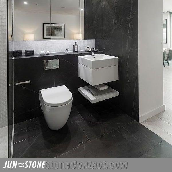 Pietra Grey Marble Bathroom