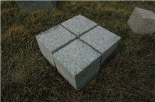 G602 China Granite for Road Paving Stone Cube Stone Polished Natural Split
