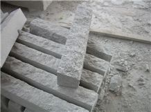 G603 Granite Paving Stone Polished Flamed Pineappled Kerbston Joint Etc.
