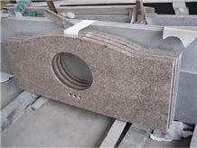 G611 Granite Polished Bathroom Countertops Custom Countertops