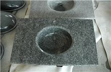 G654 China Granite Sink with Countertops Hot Sales