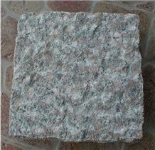 G696 Granite Cube Stone Pineappled Use for Road Pavers