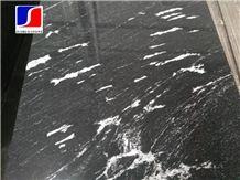 China Snow White Grey,Nero Branco Granite,Jet Mist Black Granite,China Jet Mist Granite,Granite Black Via Lactea Tiles,Snow Grey Granite,Tiles and Slabs