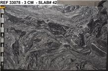 Cyclone Black Granite 3cm Polished Slabs