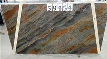 Exuberant Brown Quartzite Leathered 3cm