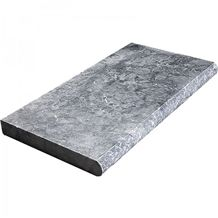 Gray Marble Pool Coping, Pool Deck Pavers