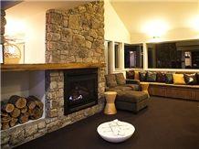 Masonry Traditional Fireplace Design