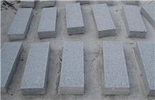 G341 Granite, China Shandong Laizhou Grey Granite, Paving Stone, Kerbstone, Cobble, Cube Stone