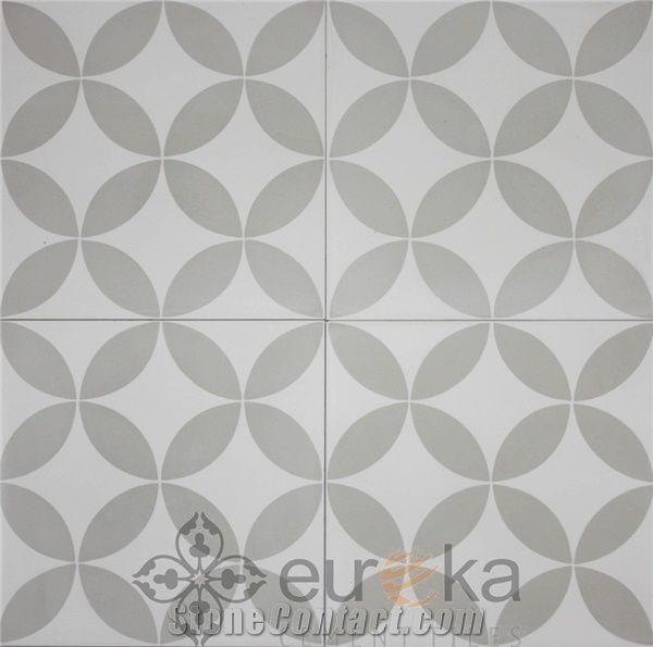 Eureka Encaustic Cement Tile from Viet Nam - StoneContact