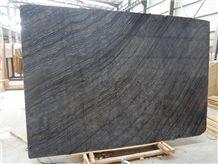 Ancient Wooden Black Marble Big Slabs