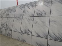 Blue Sky White Marble for Wall Tiles