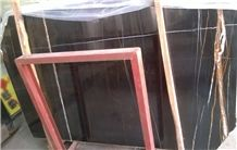 Negro Laurent Gold Marble Slabs and Tiles