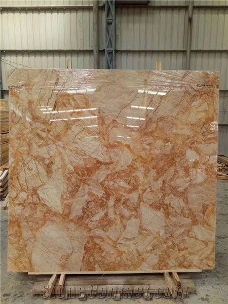Golden Phoenix Marble Slab Tiles Golden Marble Wall Tilesyellow