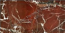 Rosso Levanto Marble Slabs & Tiles, Elazig Visne Red Marble