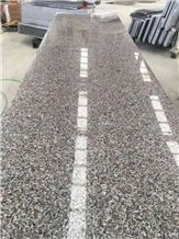 New G664 Brown,G361 Polishing Granite Flag Slab,Thin Tiles,Staris, Polished Tiles Flooring and Wall Covering, Big Random ,Countertop,Cheap Price Natural Building Stone ,Indoor Decoration, Project