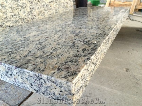 santa cecilia natural polished granite kitchen countertops. Black Bedroom Furniture Sets. Home Design Ideas