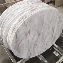 Volakas Tabletops ,Countertops ,Kitchen Tops ,Natural Stone Top ,White Marble Top ,Table Round and Oval Style Table Tops Design,Desk