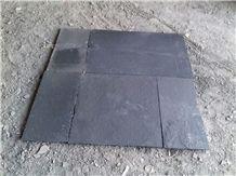 Kota Black Limestone Paving Slabs