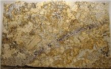 Amarelo Palmeiras Granite Slabs