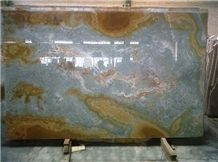 Blue Ice Onyx Slabs Iran