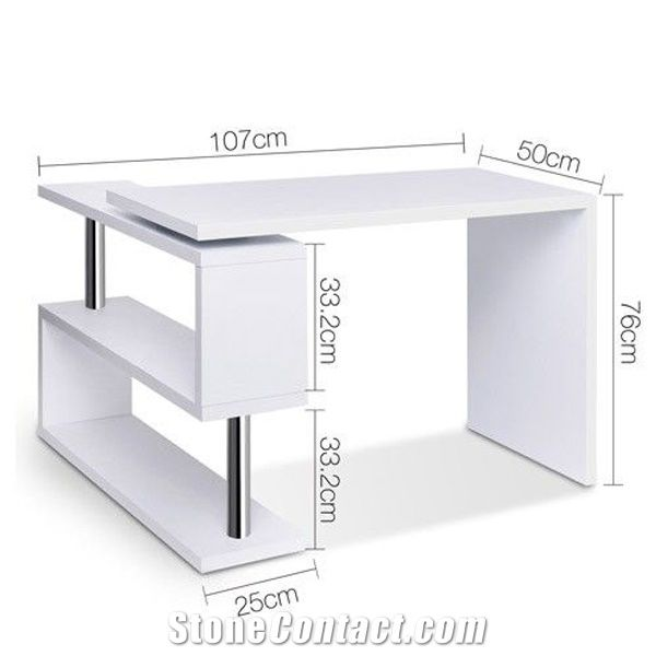 Elegant Modern Office Table Design Solid Surface Executive Ceo Office Desk From China Stonecontact Com