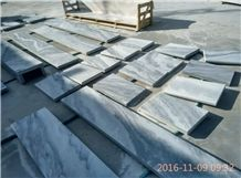 Cloudy Grey White Marble,Cloudy Grey Marble,China Dark Cloud Marble, White Wave Marble Tiles, China Shandong Laizhou Marble Slab, Cladding Tile, Floor Tile, Stone Slab, Paver