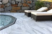 Own Factory White Marble Pool Cover Stone,China Natural White Grey Marble Tile for Wall Cladding,Ice Age Marble, China Cloudy Vein Grey Marble, China Polished Grey Marble Slabs for Walling & Flooring