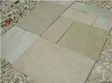 Raj Green Sandstone Pavers