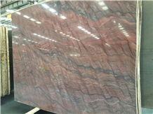 Red Fusion Mirage Quartzite Slabs & Tiles, Brazil Red Quartzite
