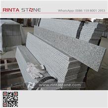 China Grey Granite G602 White Snow Slabs for Countertops,Washing Basin Tiles Kerbstone Cheaper White Stone Light White Granite Royal White New Gray Granite G603 Big Flower Granite Padang White