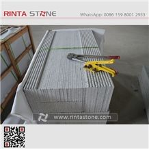 China Grey Granite G602 White Snow Stairs & Steps Cheaper White Stone Light White Granite Royal White New Gray Granite G603 Big Flower Granite Padang White