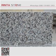 Rosa Beta G623 Granite Cheaper Gray Stone China Crystal Grey Bianco Sardo White Stone Tiles Slabs for Countertops, Paving Stone Tombstone Padang White Gray Silvery G3523 New