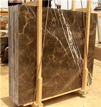 Coffee Brown Marble Polished Slabs & Tiles, Pakistan Brown Marble Tiles and Slabs