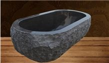 Black Granite Bathtub Carving Stone from China
