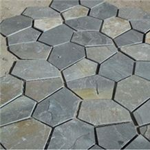 Natural Stone Slate Tile for Piazza