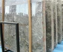 Turkish Light Grey Marble Stone Slabs & Tiles