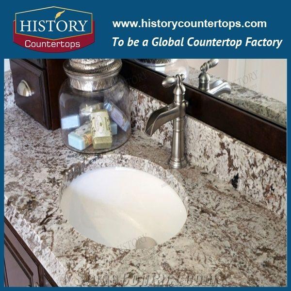 Granite Vanity Top 43 Inch Granite Vanity Top with Single Sink