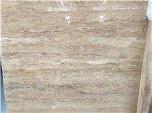 Quarry Direct Supply Light Beige Travertine Iran Light Beige Travertine Slabs & Tiles & Flooring Tiles & Wall Cladding, Light Beige Polished Travertine Tiles & Slabs for Interior Decoration