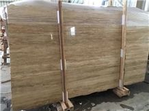 Quarry Direct Supply Rome Travertine Iran Beige Travertine Slabs & Tiles & Flooring Tiles & Wall Cladding, Beige Polished Travertine Tiles & Slabs for Interior Decoration