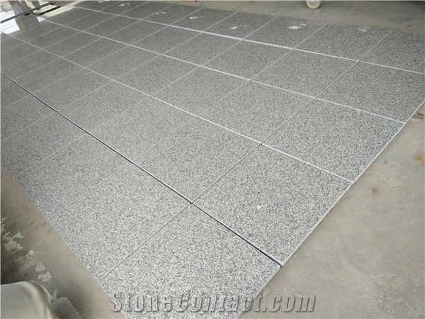 G623 Granite Tiles China Grey Crystal Bianco Sardo Barry White Rosa Beta Polished Calibrated