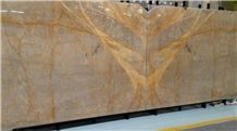 Silk Gold Marble,Netting Gold Marble, Golden Sunslight Marble Slabs for Wall or Flooring Coverage