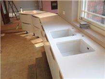 Quartz Solid Surfaces Kitchen Countertops