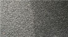 Hebei Cheap Black Granite Bush Hammered Tiles