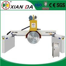 Secondhand Used Stone Granite Marble Block Slab Bridge Saw Cutting Machines Multi Blades Xianda Btc-2200/2500/2800/3000
