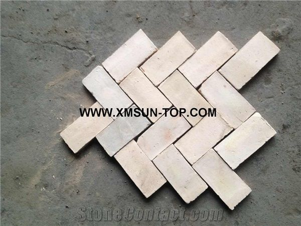 Handmade Terracotta Beige Tiles/Ceramic Tile/Antique Tile