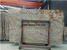Polished China Bianco Antico Yellow Granite Slabs & Tiles & Gangsaw Slabs & Strips(Small Slabs) &Customized/Chinese Bianco Antico Yellow Granite Gangsaw Big Slab/China Yellow Granite Panels