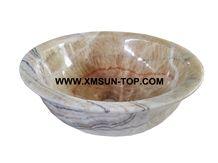 Red Dragon Onyx Kitchen Sinks&Basins/Phoenix Onyx Bathroom Sinks&Basin/Round Shape Sinks&Basins/Natural Stone Basins&Sinks/Wash Basins/Interior Decorative