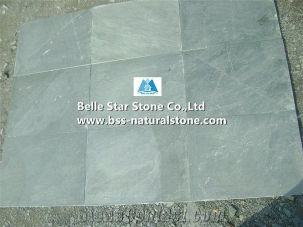 Green Riven Slate Tiles Grey Split Face Floor Light Flooring Paving Stone Patio