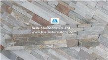 Oyster Split Face Slate S Stone Wall Panels,White Gold Quartzite Ledgestone,Desert Gold Quartzite Stone Cladding,Silver Sunset Quartzite Stacked Stone,Honey Golden Quartzite Ledgestone,Stone Veneer